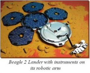 Beagle 2 lander image